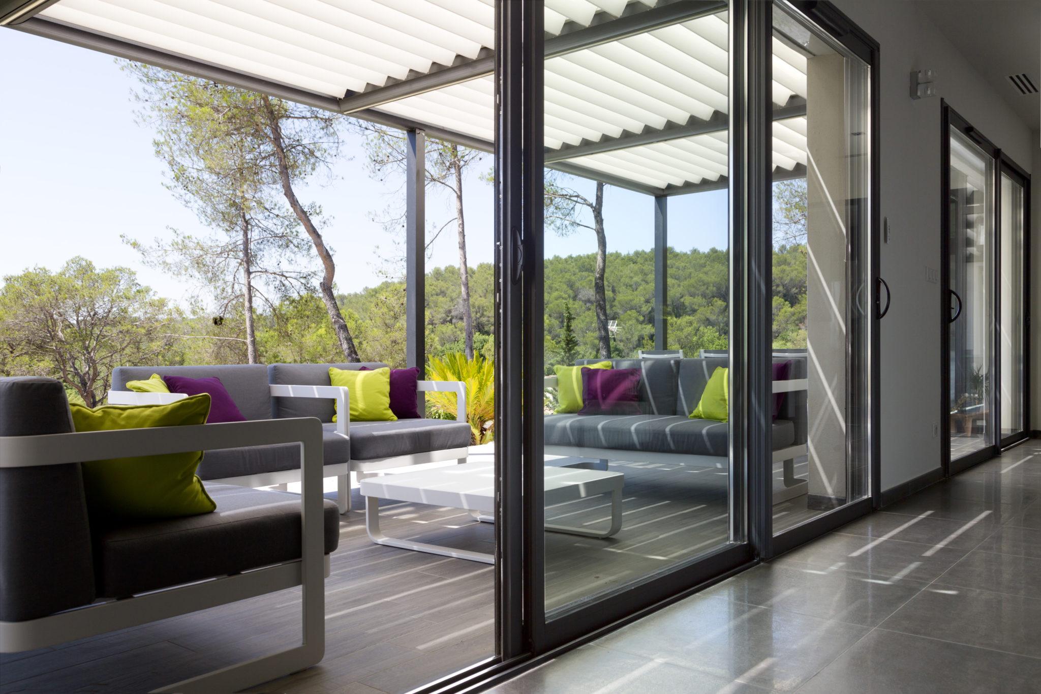 lumi re naturelle mas provence clairage naturel de la maison. Black Bedroom Furniture Sets. Home Design Ideas