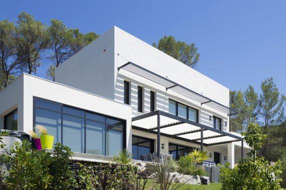 Beautiful image de maison contemporaine contemporary for Meilleur constructeur maison 44