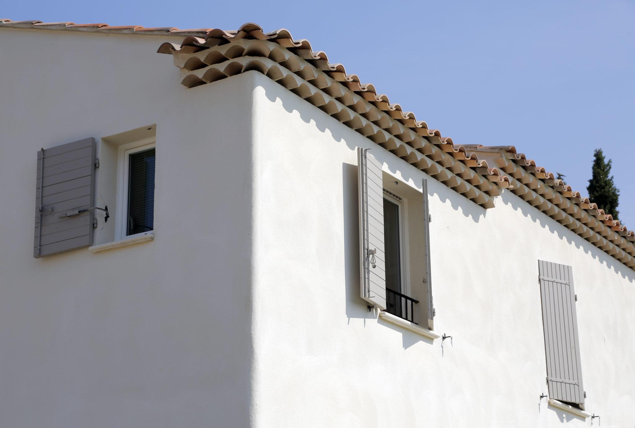 Couleurs Facades En Provence enduit à la chaux : mas provence, construction maison saine