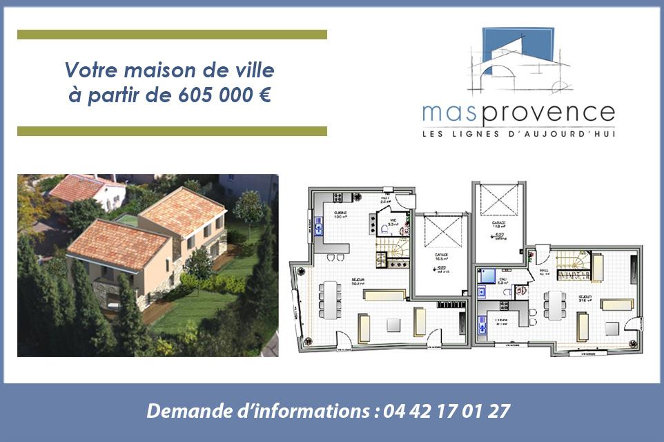 Terrain et maison aix en provence mas provence for Self garage aix en provence