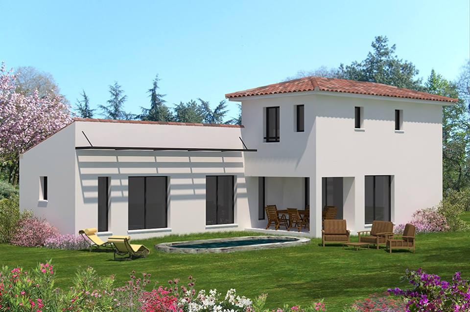Terrain et maison salon de provence 13 mas provence for Piscine salon de provence