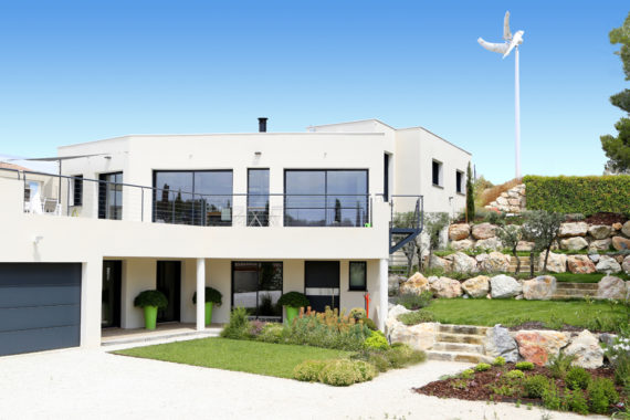 L 39 allure d 39 une contemporaine mas provence constructeur for Constructeur maisons contemporaines