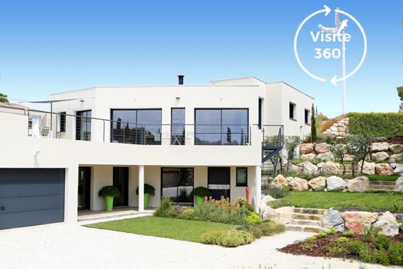 Constructeur maison contemporaine : Mas Provence ...